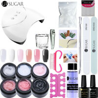 UR SUGAR Building UV Gellack Nagel Kit Soak Off 36W UV Lamp Nail File Werkzeug