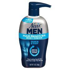 Nair Men Body Cream Hair Remover - 13 oz Pump
