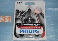 ampoule Philips X-TREM VISION MOTO H7 12V 55W jusqu'à +100% de visibilité