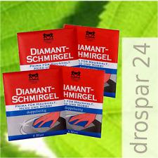 Herkules Diamant Schmirgel Herdplatten-Reiniger  4x 6 Blatt #GB