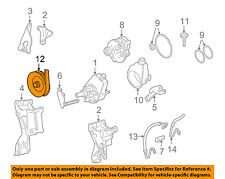 GM OEM Pump Steering Pump-Pulley 12605677