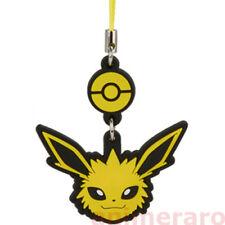 Pokemon Face Mascot - JOLTEON Rubber Strap Head Charm Tomy Nintendo XY BW Sun