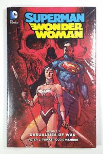"Superman Wonder Woman New 52! Vol 3 ""Casualties of War"" HC (2016) DC SEALED"