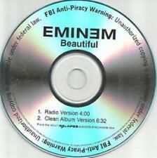 Eminem: Beautiful PROMO MUSIC AUDIO CD from D12 Radio & Clean Album Version 2trk