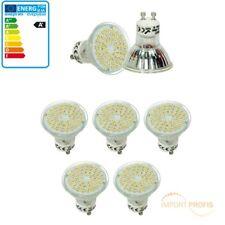 5 x LED Spot SMD GU10 Leuchtmittel Lampe Licht 3W Warmweiß Hi-Power 54 SMD´s