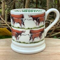 EMMA BRIDGEWATER . Hereford . 1/2 pint MUG . Farm Animals