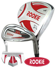 JUNIOR RH GOLF SET 3 PCE for KIDS 10yrs plus LATEST MODEL CHILDRENS GOLF CLUBS