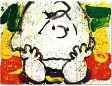 "TOM EVERHART's ""CALL WAITING (CHARLIE BROWN)"" LIMITED EDITION LITHOGRAPH MINT"