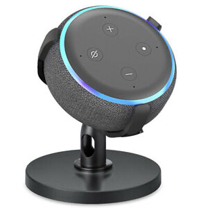 360° Adjustable Table Stand Hanger Holder For Amazon Echo Dot 3rd Generation
