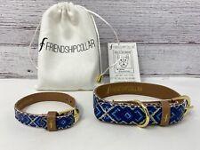 Dog Collar and Matching Friendship Bracelet Original Friendship Collar BOHO XS