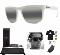 NEW Electric Knoxville Alpine White Ohm Gradient Square Mens Sunglasses Msrp$120