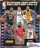 2019/20 Panini Basketball HUGE Sticker+Card Box-250 Sticker+50 Cards-ZION RC YR!