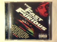 COLONNA SONORA The fast and the furious cd SCARFACE WU-TANG CLAN REDMAN JA RULE