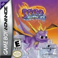 Spyro Season Of Ice - Game Boy Advance Gba Sp DS