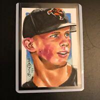 Adley Rutschman Orioles 1/1 original hand drawn sketch card aceo rookie rc