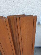 "Ladderax  ""teak"" Shelf 3ft x 8""  (92.5cm x  20.32cm) , various conditions"