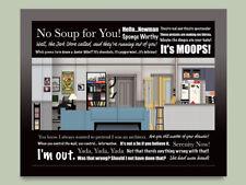 Seinfeld set 2D-Plus diorama - memorabilia art collector gift