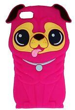 VERDE Silicone Carlino Shar Pei Dog Puppy telefono Custodia/Cover per Apple iPhone 4/4s