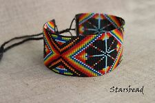 Beautiful Mexican Choker Necklace, Huichol,Ethnic Necklace, Native American