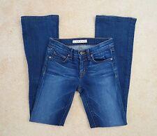 J Brand Mujer Corte Recto Vaquero Size 24 818 Sol Mediano Lavado Pantalones