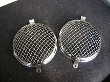 ORIG GHE STONE GUARD HEADLIGHTS GRILL RALLY COVER FOR PORSCHE 356 AND VW COX BUG