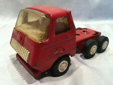 "Collectible Vintage Tonka Toy Truck Cab Steel Red & White 4.5"" x 2.5"" x 2"" Nice"