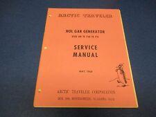Artic Traveler Service Manual May 1969 HOL GAR Generator TE 750-TE 751 M1813