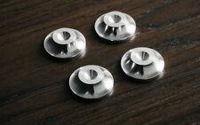 - británicos hicieron-CNC Aluminio Altavoz Spike Almohadillas Zapatos Pies 19 mm diámetro-Conjunto de 4 -