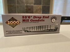 "WALTHERS PROTO 2000 52'6"" DROP END MILL GONDOLA DT&I #9053 (BOX 8)"