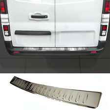 PROTECTION PARECHOC ARRIERE INOX CHROME RENAULT TRAFIC 2 2001-2014 DCI & 16S