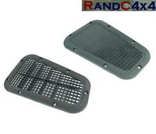 AWR2215/6 Land Rover Defender Hand Wing Top Air Intake Grill Cover PAIR