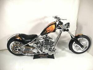 RC West Coast Choppers Jesse James Motorcycle El Diablo II Rigid Bike Only As Is