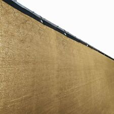 ALEKO Fence Privacy Screen Outdoor Backyard Windscreen 4X25Ft Cover Mesh Fabric