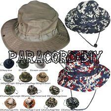 Men Bush Bucket Hat Sun Cap Cotton Boonie Jungle Explore  Hiking Camping Outdoor