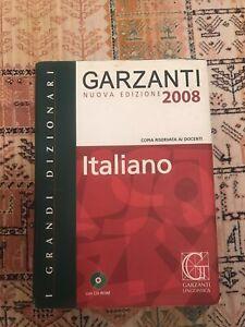 Dizionario Italiano Garzanti grande