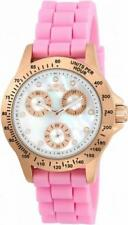 Invicta Speedway 21993 Women's Round Mother of Pearl Day Date Analog Watch