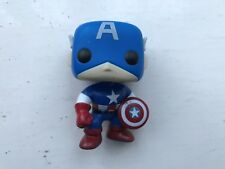 FUNKO POP VINYL #06 CAPTAIN AMERICA MARVEL UNIVERSE UNBOXED BOBBLE-HEAD