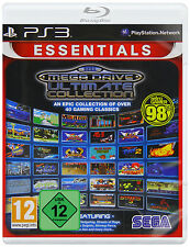 Ps3 Sega Mega Drive Ultimate Collection 40 giochi classici NUOVO & SCATOLA ORIGINALE PLAYSTATION 3