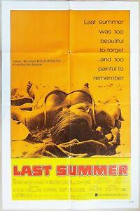 Last Summer 1969 Barbara Hershey, Richard Thomas Original US One Sheet Poster