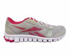 Reebok Kids' Grade School REALFLEX OPTIMAL Shoes Grey/Berry J87793 a4 Size 6.5