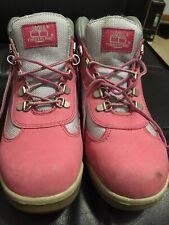 Timberland Premium Boots Sz.6.5 Womens Pink/Metallic