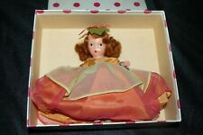 Vintage Nancy Ann Storybook Bisque Doll #92 Autumn from the Seasons Series