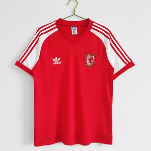 1982 Wales Home Retro Shirt