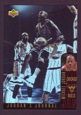 Michael Jordan 1996-97 Collectors Choice Jordans Journal Hologram #J3