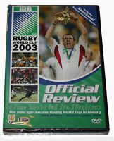 RUGBY World Cup - Official Review 2003 WITH Wales Souvenir BOOKLET - NEW  SEALED