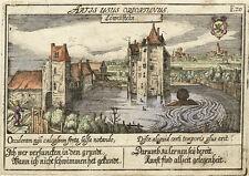 """""""Löwenstein."""".- Kol. Kupferstich/Meisner Schatzkästlein, 1637-1678"""
