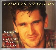 (AG337) Curtis Stigere, Keep Me From The Cold - 1995 CD