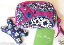 VERA BRADLEY Tune In Earbud or Small MP3 Organizer - Boysenberry (New)
