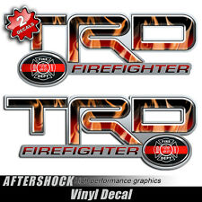 Firefighter Truck 4x4 Decal Set Tundra Tacoma
