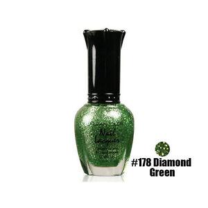 1 Kleancolor Nail Polish Lacquer 178 Diamond Green Manicure Girl